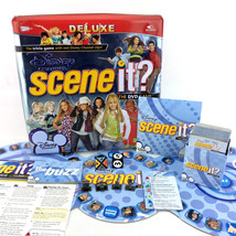 Disney Channel Scene It Board Game Deluxe Edition Tin Box Case 2008 Complete - $26.00