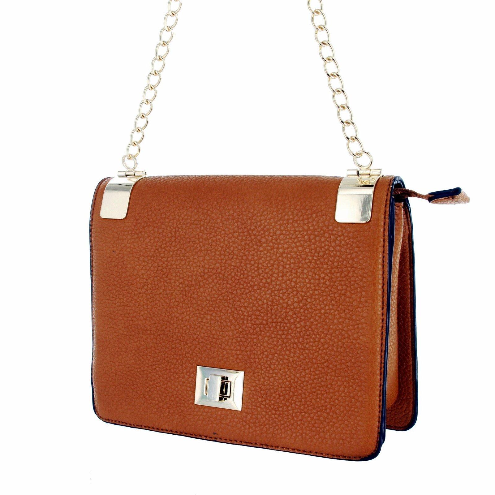 e7fa2cbe1 81qizg1chol. 81qizg1chol. Alyssa Women's Classic Faux Leather Designer  Crossbody Shoulder Bag Handbag ...