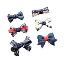 6 Pieces Small Snap Clips for Fine Hair Little Girls Sweet Style Hair Pins