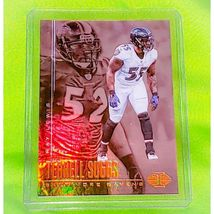 NFL TERRELL SUGGS RAVENS 2017 PANINI ILLUSIONS FOOTBALL #18 MINT - $0.75