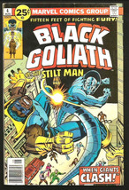 Black Goliath #4 Vs The Stilt Man VG- Dc Comics 1976 Buckler Heck Claremont - $4.94