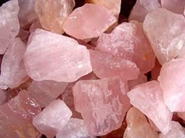 1 Pck of 1000 Carat Lots of Unsearched Rose Amethyst Rough + a Free Face... - $25.47