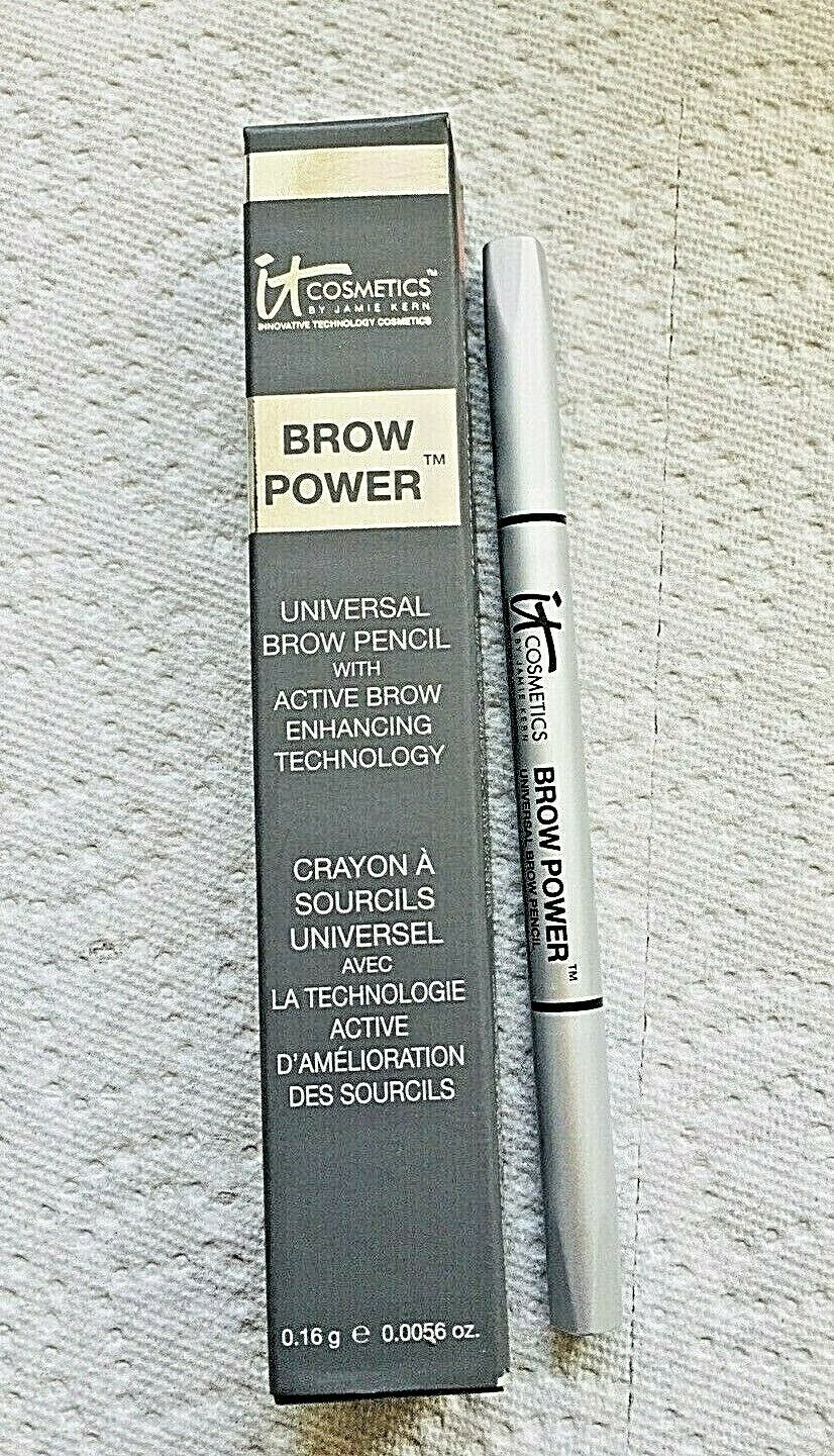 Primary image for IT Cosmetics Brow Power Universal Taupe Pencil 0.0056 oz New In Box