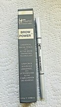 IT Cosmetics Brow Power Universal Taupe Pencil 0.0056 oz New In Box  - $12.38