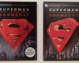Superman Doomsday (DVD, 2007) with Slipcover