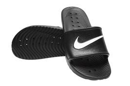 New Nike Kawa Shower 832528-001 Black Slippers Men - $26.50
