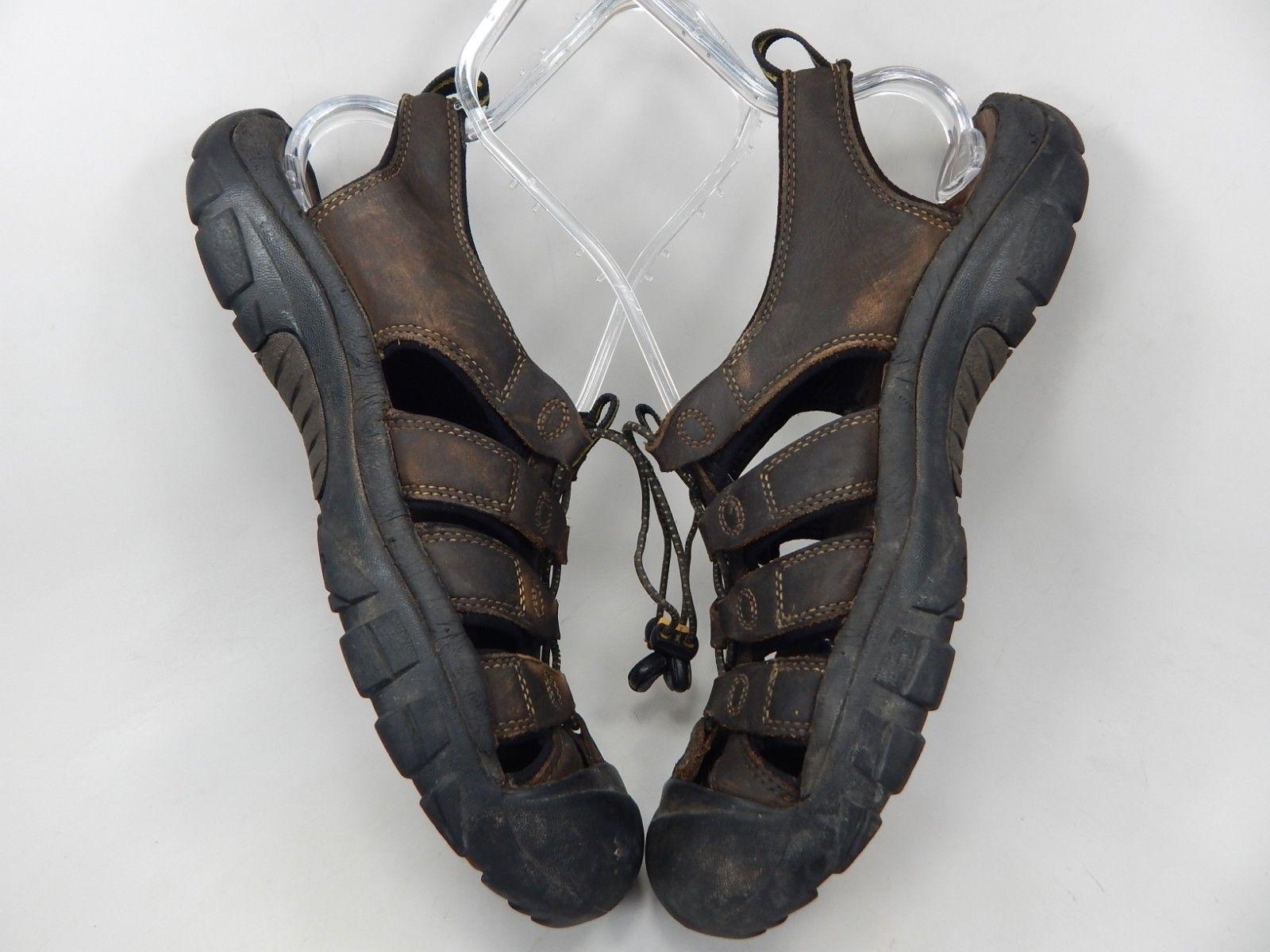 Keen Newport Size US 10.5 M (D) EU 44 Men's Sport Sandals Shoes Brown Leather