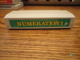 TI 99/4A Numeration 1 cartridge educational game software Scott Foresman... - $7.99