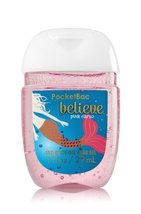 Bath & Body Works PocketBac Hand Gel Sanitizer Believe Pink Citrus - $1.97