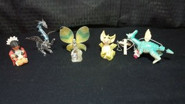 5-Piece Figurines Dragon String Puppet, Dragon, Dragonfly, Ferry & Squaw - $24.74