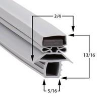 Traulsen Compatible Gasket AHT232WPUTFHS Part# (SER-27566-00) - $33.81