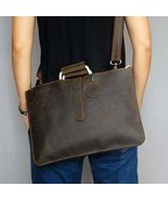 On Sale, Handmade Men Shoulder Bag,Horse Leather Men Tote, Messenger Bag - $145.00
