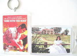 GONE WITH THE WIND TARA KEYCHAIN SCARLETT O'HARA TARA RHETT BUTLER MOVIE... - $6.50
