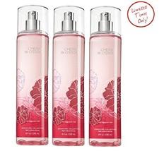 Bath & Body Works Cherry Blossom Fine Fragrance Mist 8 oz / 236 ml (Pack of 3) - $99.99