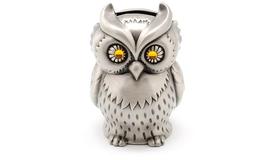 Vintage Metal Owl Piggy Bank - $19.99