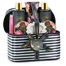 Home Spa Gift Basket, Luxurious 8 Piece Bath & Body Set For Men/Women, Fresh Peo image 2