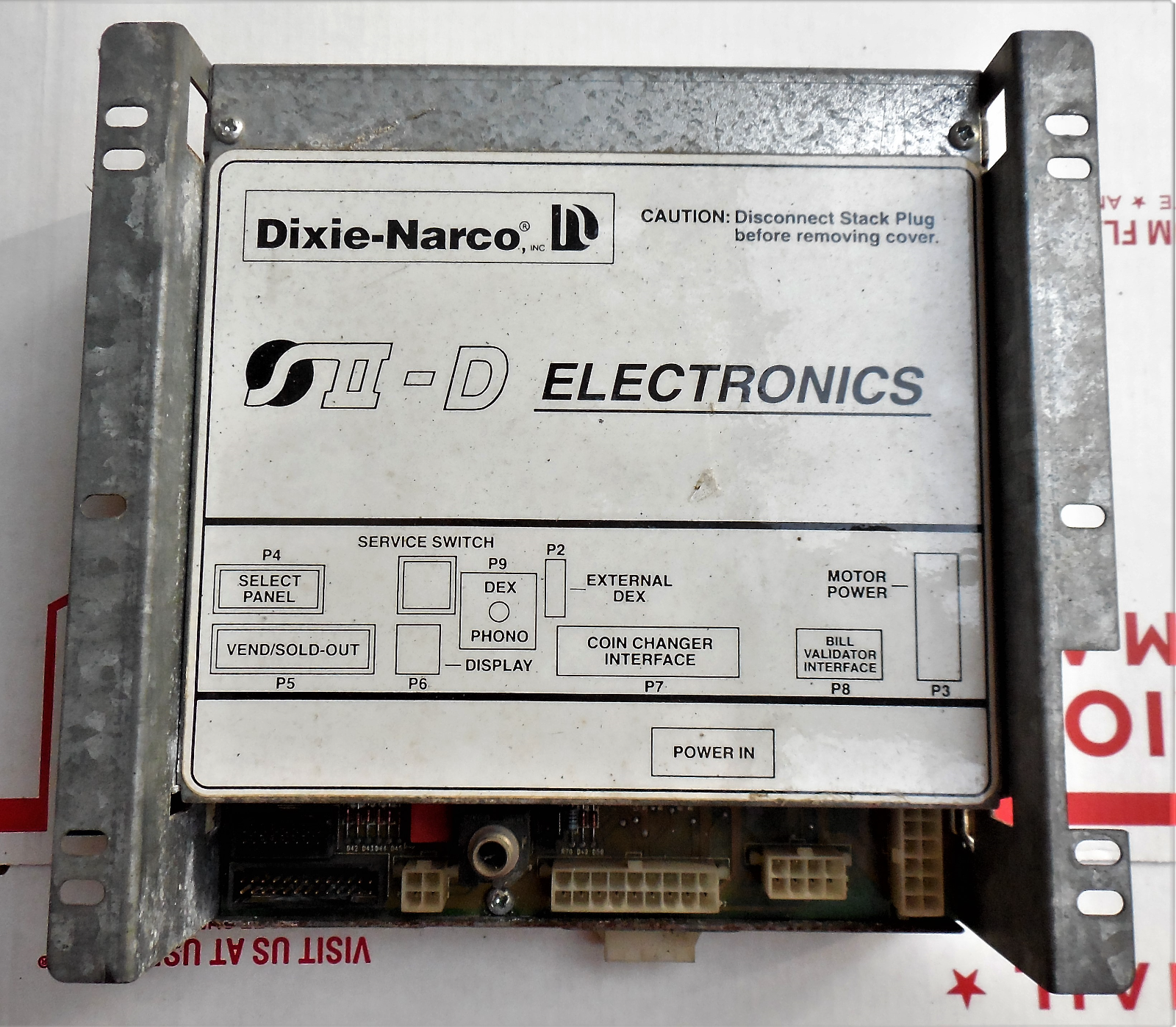 Primary image for Dixie-Narco SII-D S2-D S2D Controller-NON WORKING Soda Machine Computer Board