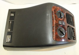 2001-2006 ACURA MDX REAR CONSOLE CLIMATE CONTROL AIR VENTS J1031 - $69.29