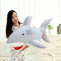 High Quality 70cm Shark Plush Toy Stuffed Pillow Doll Birthday Gift Kids Toy Bab image 3
