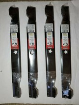 "4 New 42"" Hi Lift Deck Blade Set Snapper Murray Poulan Craftsman 138498 ... - $85.10"