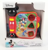 Disney Mickey Mouse Clubhouse- My First Learning Book Sounds & Lights New  - $14.70