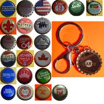 NY New York Giants Coke Sprite Diet pepsi & more Soda beer cap Keychain image 1