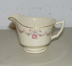 Syracuse China Old Ivory Arcadia Pink Floral Creamer 15947 - $13.09