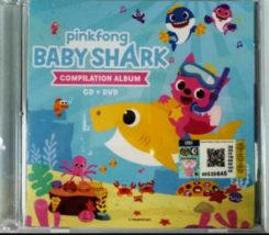 ORIGINAL PINKFONG Baby Shark Compilation Album CD + DVD FREE SHIPPING  - $29.60