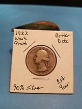 1932 Washington Quarter Better Date 90% Silver!!! LOOK!!!  - $6.93