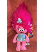 "Trolls Poppy Plush Stuffed Toy 13"" Doll Dreamworks Toy Factory Girl Pink... - $18.80"