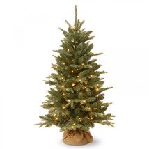 National Tree 4' Burlap Tree with 150 Clear Lights - $101.27