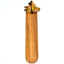 Northwoods Canadian Maple Leaf Parquetry Wood Bookmark