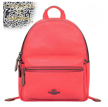 Coach Mini Charlie F11774 F11769 X Keith Haring Backpack f 58315 Orange - $128.00
