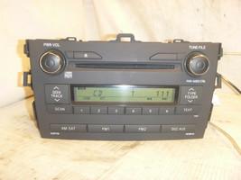 11 12 13 Toyota Corolla Radio Cd Player 518AQ 86120-12E30 Bulk 627 - $64.15