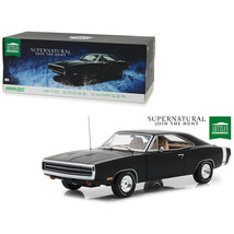 1970 Dodge Charger Black Supernatural (2005) TV Series 1/18 Diecast Mode... - $81.36