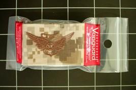 Usn Us Navy Nwu Uniform Combat Aircrew Specialty Badge Type 2 Tan Insignia Tape - $6.88