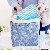 Fresh Insulation Cold Bales Thermal Oxford Lunch Bag Waterproof Convenie... - €8,95 EUR