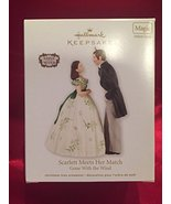 Hallmark 2012 Scarlett Meets Her Match Gone with the Wind Ornament - $39.29