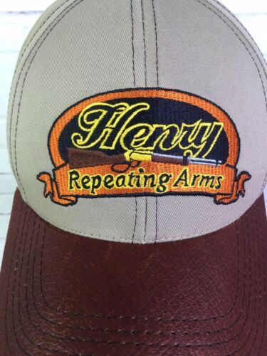Henry Repeating Arms Hat Cap Mens Strapback One Size Fits All Made In USA NEW