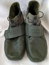 Puma Fenty Rihanna Sneakers High Hi Top Cypress Green 2017 Size 11 Shoes - $48.76