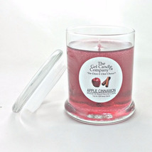 Apple Cinnamon Scented Gel Candle - 120 Hour Deco Jar - €13,11 EUR