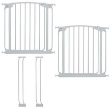 Dreambaby Chelsea Auto Close Security Gate in White Value Pack (Includes... - $129.99