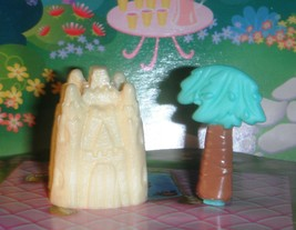 Beach Sand Castle Palm Tree  fits Fisher Price Loving Family Dollhouse D... - $4.99