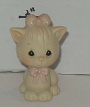 "1990 PRECIOUS MOMENTS ENESCO ""NOT A CREATURE WAS STIRRING"" FIGURINE 524484 - $23.38"
