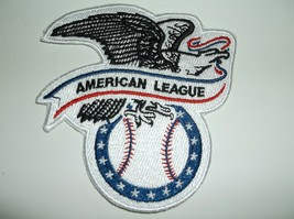 """American League~MLB~Embroidered Patch~(3 5/8"""" x 3 3/4"""") Iron Sew On~FREE Mail - $5.41"""