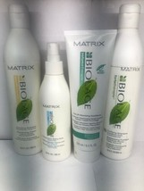 Set of 4 Matrix Biolage Hair Styling Products, Shampoos, Conditioner, Hair Spray - $40.58