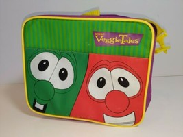 Veggie Tales School Lunchbox Bob the Tomato & Larry the Cucumber Lunch T... - $14.80