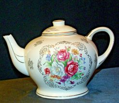 Porcelain China Teapot with Lid AA-191966 Vintage Japan image 7