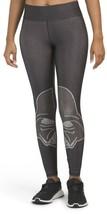 NWT Terez Star Wars Darth Vader Official Licensed Print Leggings Metalli... - $45.00