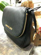 Michael Kors Classics Bedford Pocket Flap Small Crossbody Bag Pebbled $298 New image 7